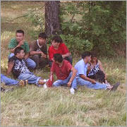 Here's part of the group that was in the van. (source: U.S. Immigration and Customs Enforcement)